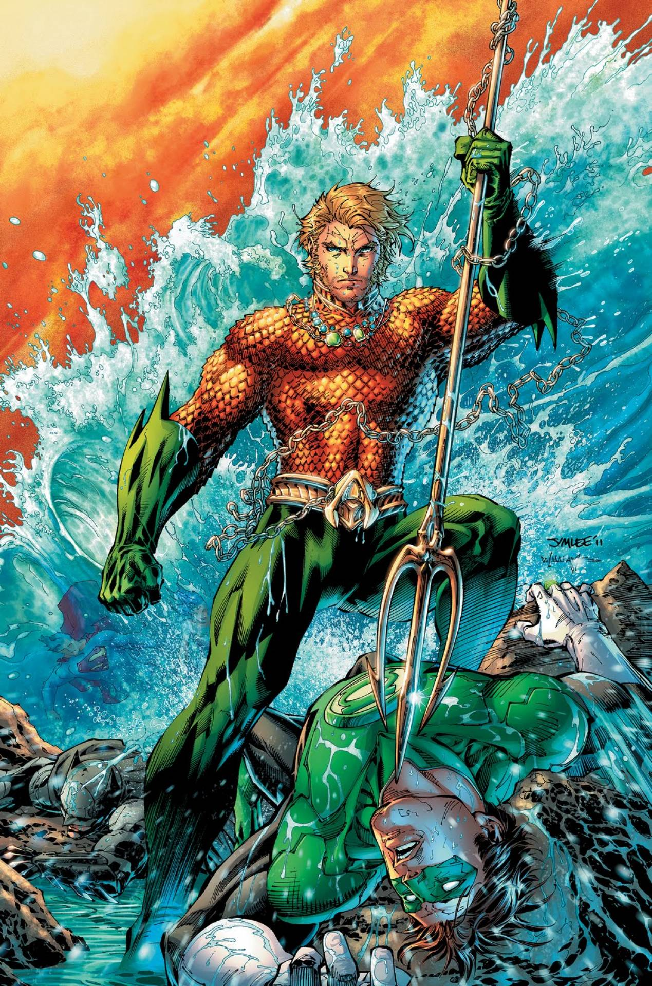 Aquaman tablet wallpaper