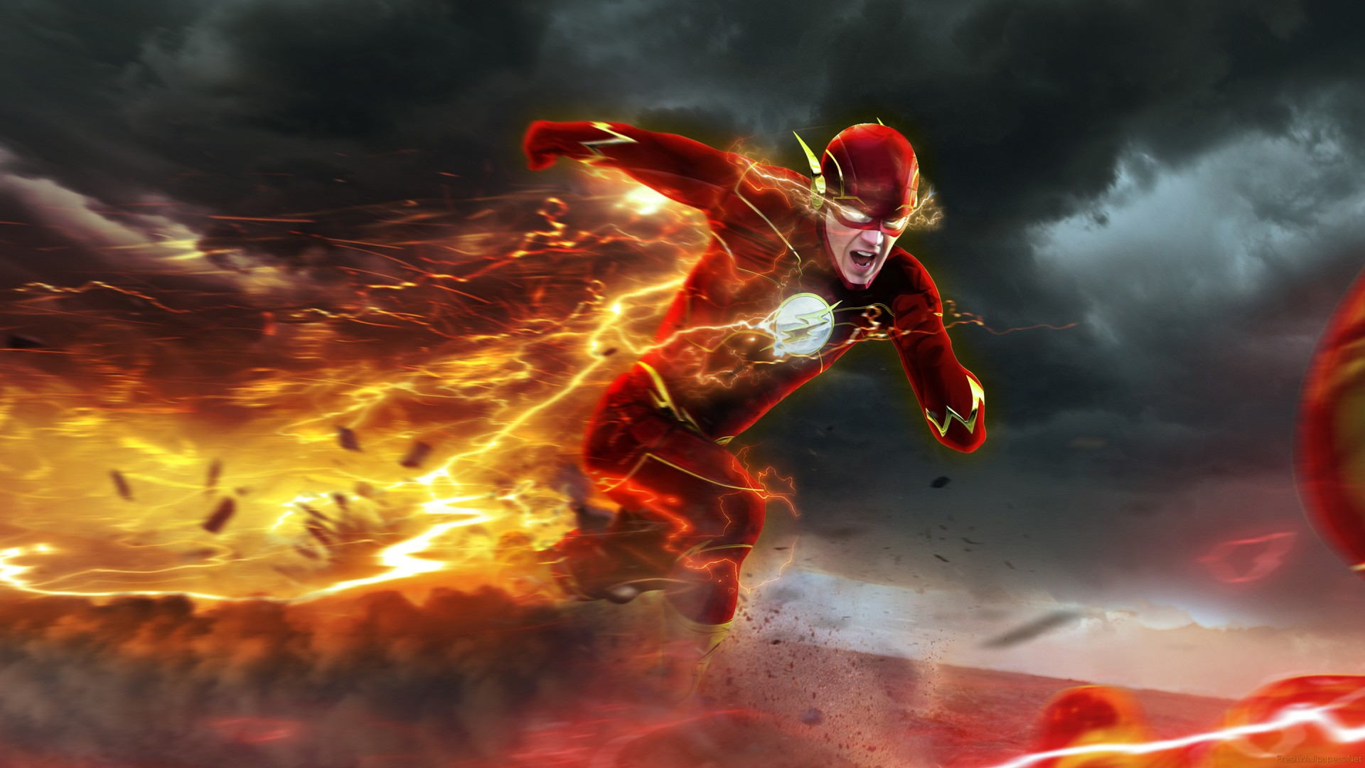 Image result for the flash running