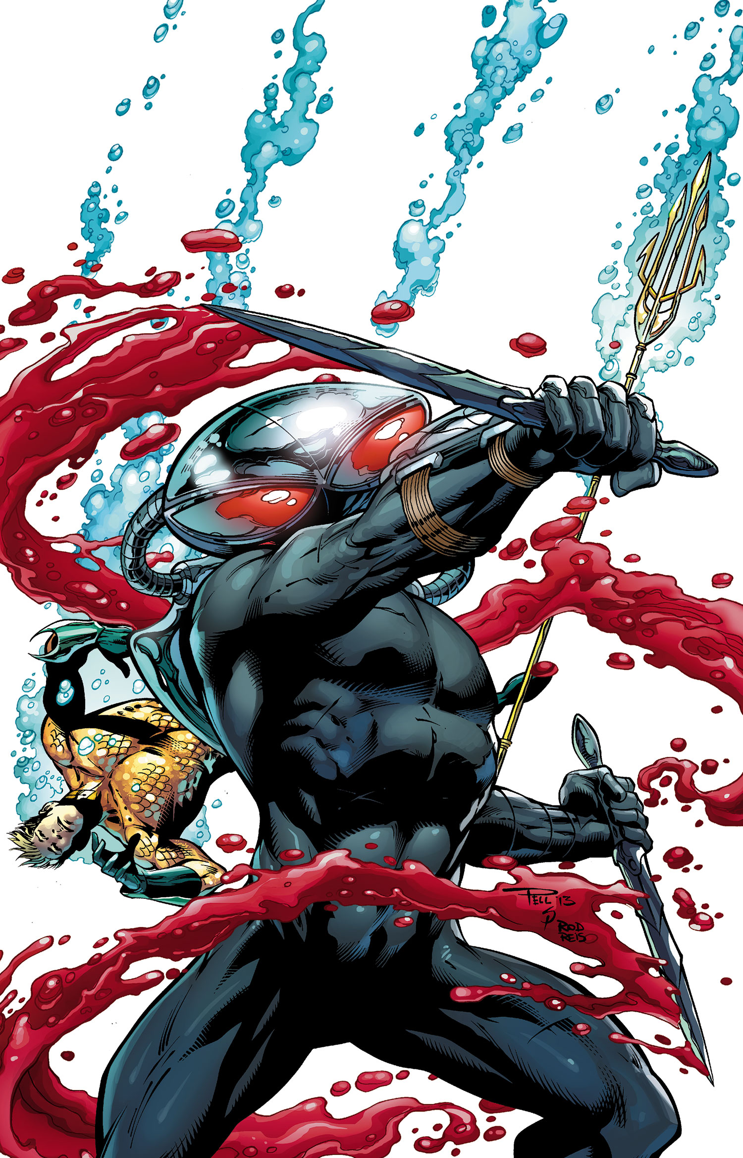 Black Manta Wallpaper Android Red