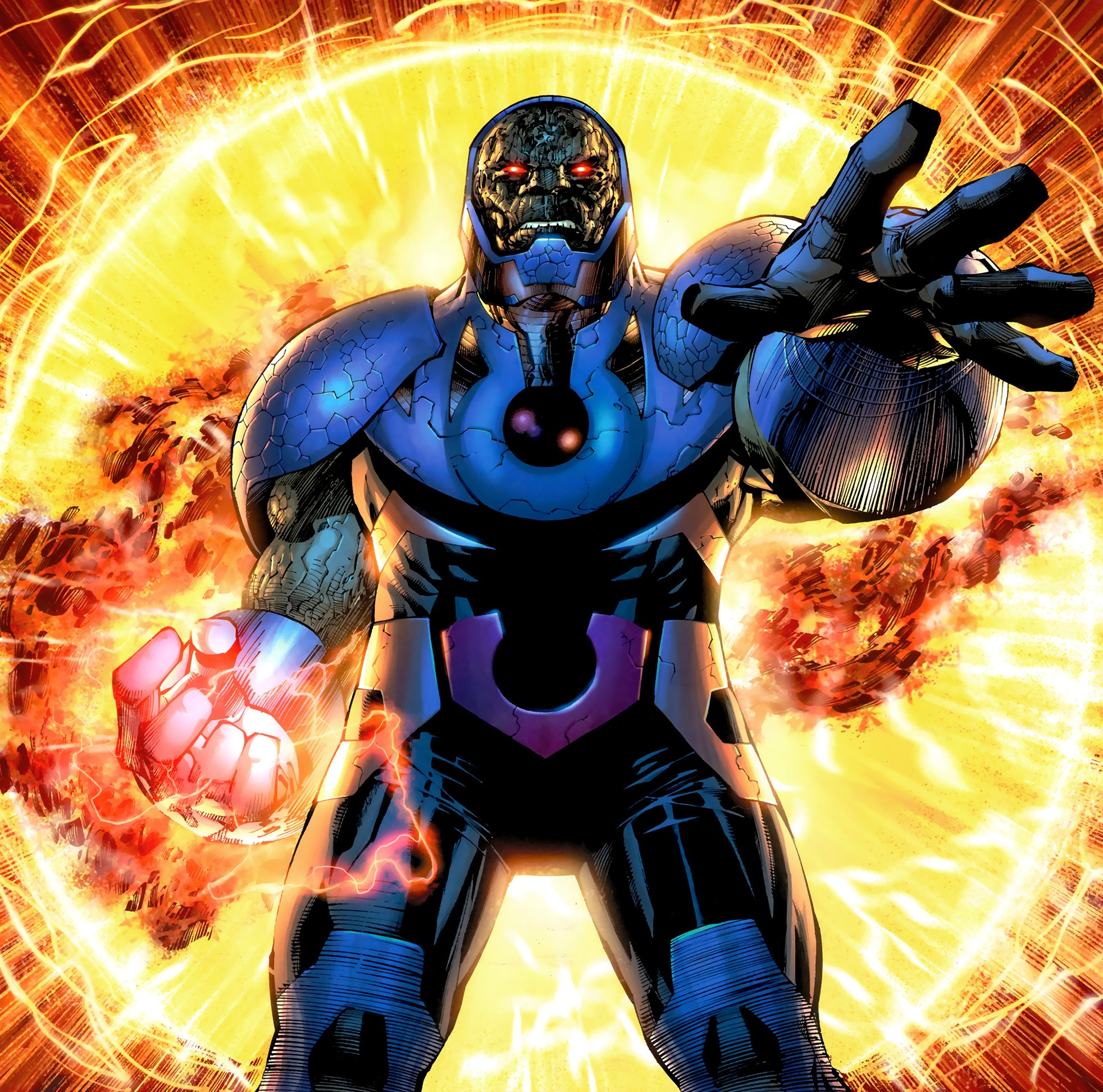 Darkseid New 52 Android Red