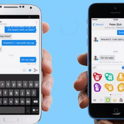 Fb messenger iphone vs android
