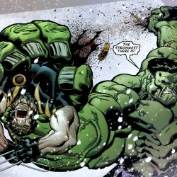 Hulk strongest there is rips wolverine