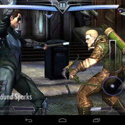 Injustice gods among nightwing vs green arrow