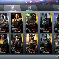 Injustice gods among us characters