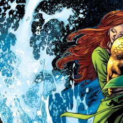 Mera loves aquaman