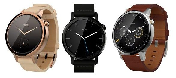 Moto 360 Smartwatch with Android Wear