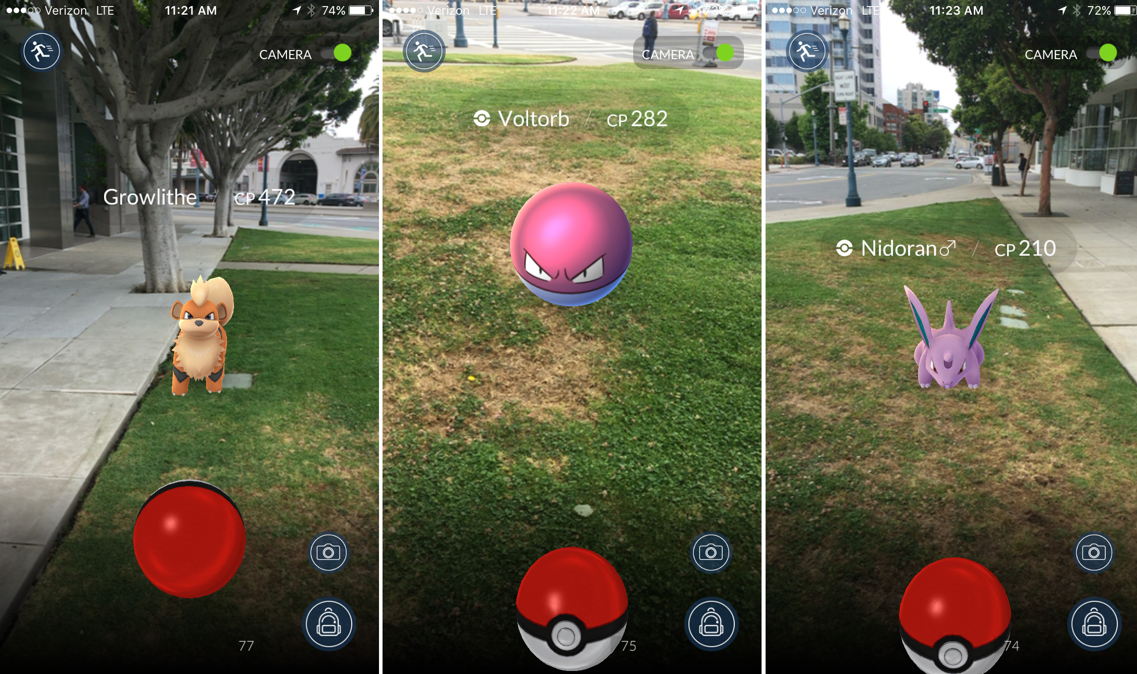 Pokemon go real life