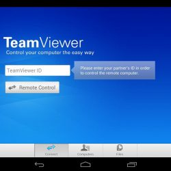 Teamviewer for android tablet