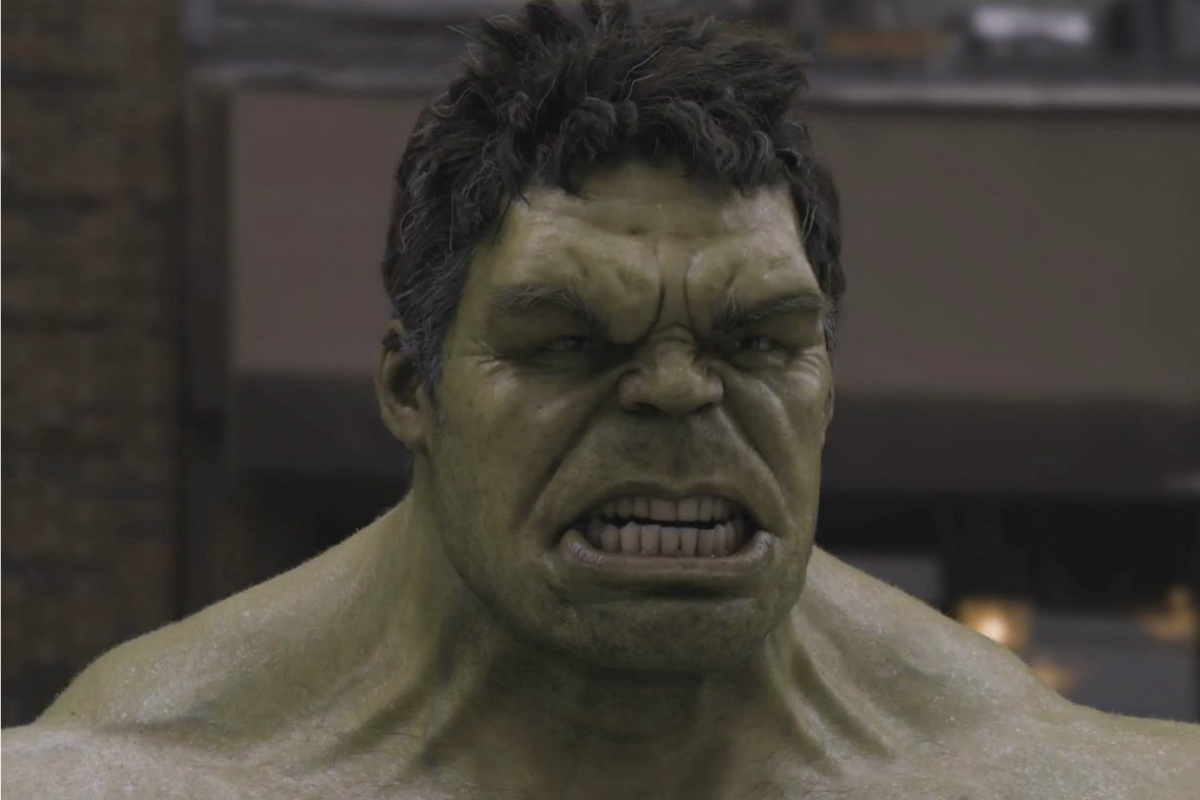 Ugly Mark Ruffalo As Hulk Android Red