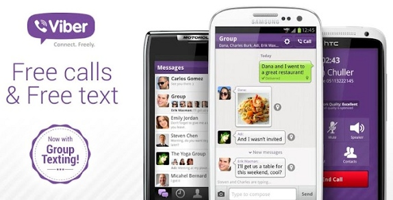 Viber For Android Phones & Tablets
