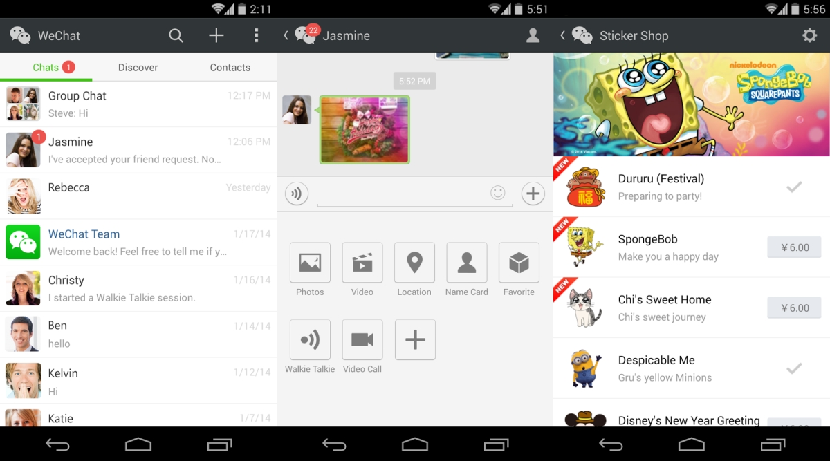 Download WeChat Messenger For Android