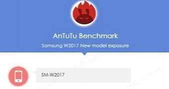 "Samsung W2017 ""Veyron"" Spotted on AnTuTu"