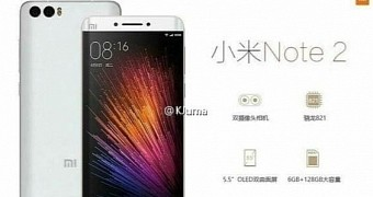 Xiaomi Mi Note 2 Leaks in Images Showing Curved Screen
