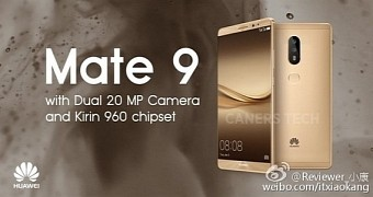 Huawei Mate 9 Rumored to Arrive in December With Dual-Camera Setup