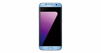 Blue coral galaxy s7 edge looks stunning in official pictures