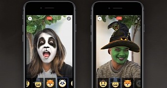 Facebook gets updated with halloween themed reactions masks too