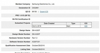 Samsung galaxy a3 2017 granted bluetooth certification coming soon