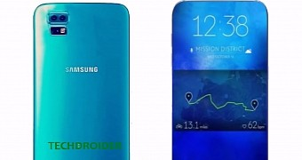 Samsung galaxy s8 could feature a dual camera setup and iris scanner