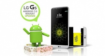 Android 7 0 nougat update arrives for lg g5 at sprint