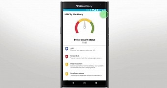 Blackberry users report issues with dtek app after latest updates