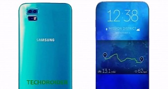 Samsung to Launch OLED Smartphones with 90% Screen-to-Body Ratio in 2017