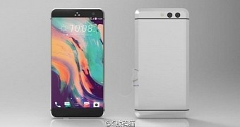 Htc 11 leaked renders shows bezel less display no home button dual camera