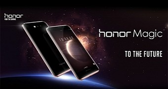 Huawei honor magic with all curved display makes its debut