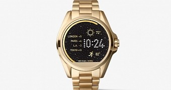 Michael kors exquisite smartwatch with android wear launched in play store