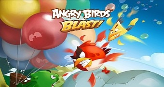 Rovio launching angry birds blast match three puzzler on december 22