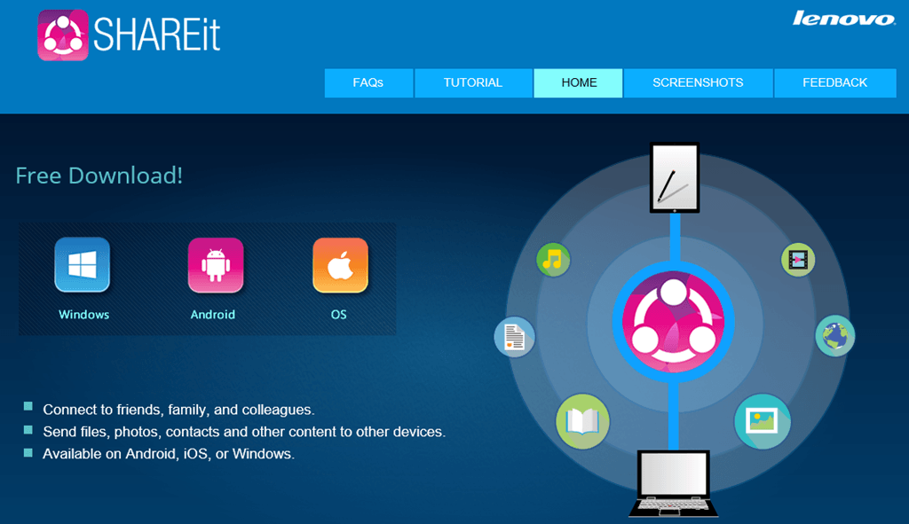 Install SHAREit For Android