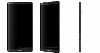 New Samsung Galaxy S8 Renders Show Sleek and Thin Design