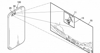 Samsung patents dual camera configuration with wide angle lens