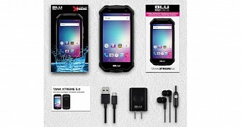 BLU Launches Its First Rugged Smartphone, the BLU Tank Xtreme 5.0