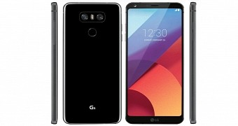 LG G6 Official Press Render Shows the Phone in Full Glory