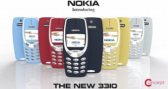 Modern nokia 3310 concept video shows phone from all angles