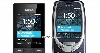 Render of modern nokia 3310 shows bigger and colored display