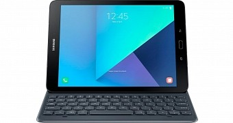 Samsung Galaxy Tab S3 with Magnetic Keyboard Shows Up in Press Photo