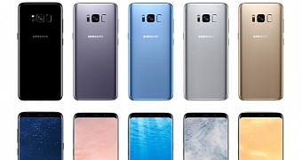 Carriers announce galaxy s8 and s8 plus availability and pricing details
