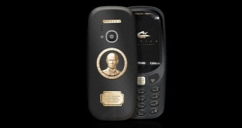 Nokia 3310 supremo putin looks unsophisticated outrageously priced at 1 700
