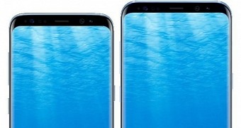 Samsung galaxy s8 and galaxy s8 plus leak in new batch of photos