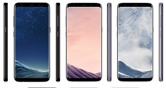 Samsung galaxy s8 and s8 plus pricing and colors surface