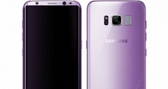 Samsung Galaxy S8 to Come in Amethyst Color Variant, Brazilian Store Hints