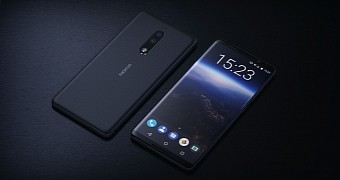 Nokia 9 concept images reveal bezel less display and dual lens camera