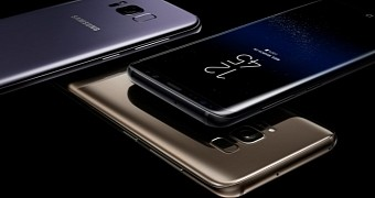 Samsung galaxy s8 and galaxy s8 plus make their worldwide debut