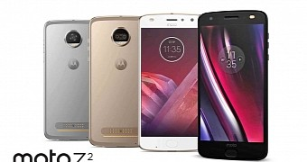 Moto z2 force and moto z2 play leak reveals front and back panels