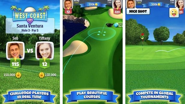 Golf clash game features