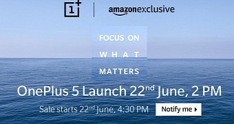 Oneplus 5 with 8gb of ram to arrive on june 22