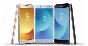 Samsung officially introduces the galaxy j3 galaxy j5 and galaxy j7 2017