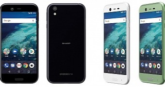 Meet sharp x1 the newest android one smartphone using android 7 1 nougat