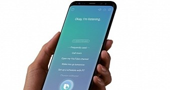Samsung s bixby intelligent assistant can interact with whatsapp facebook more